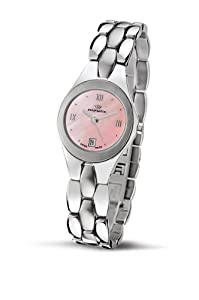 Philip Ladies Reflexion Analogue Watch R8253500675 with Quartz Movement, Mother Of Pearl Dial and Stainless Steel Case