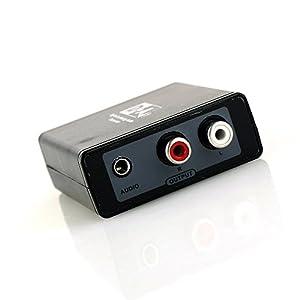 SIMBLE Digital to Analog オーディオ 変換 アダプター デジタル から アナログ への 変換器