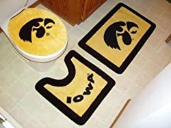 Iowa 3 Piece Bath Rug Set