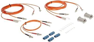 Fluke Networks Duplex MM 62.5µm 3 Jumper Test Reference Cords for Adapter (Set of 2)