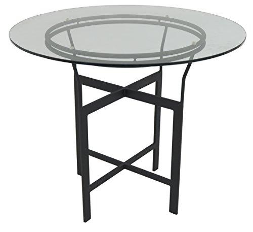 impacterra-a72-dg-bar-table-30-matte-black-clear-glass