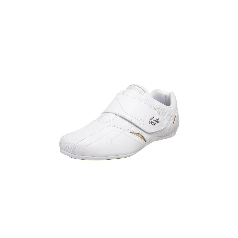 8b01b31a2b39 Lacoste Mens Protect Laser Velcro Sneaker