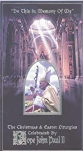 Do This Memory Of Me - Christmas Easter Liturgies Vhs from Pbs Home Video