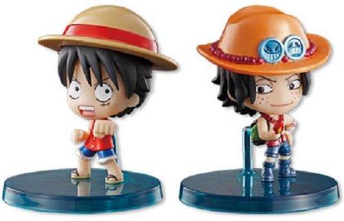 Luffy & Ace One Piece Deformeister Petit JUMP Festa 2011 Exclusive