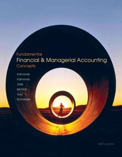 Fundamental Financial and Managerial Accounting Concepts