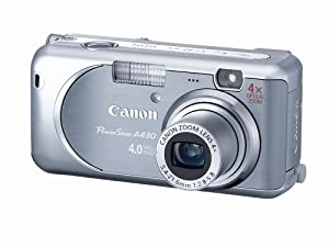 Canon PowerShot A430 4MP Digital Camera with 4x Optical Zoom