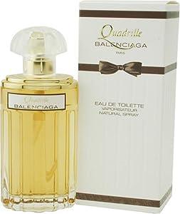 Quadrille By Balenciaga For Women. Eau De Toilette Spray 3.3 Ounces