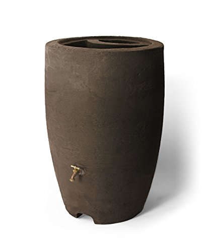 Algreen-Products-Athena-50-Gallon-Rain-Barrel-with-Brass-Spigot-Brownstone