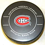 Montreal Canadiens NHL Hockey Official Game Puck