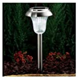 Westinghouse Set of 8 Solar LED Lights - Stainless Steel