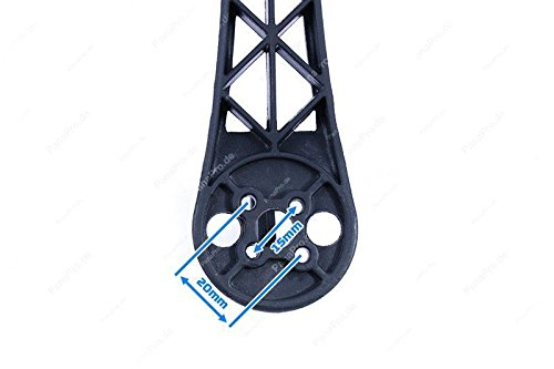 Quadrocopter-Rahmen-Z450-FlameWheel-Rot-Weiss-Frame-Kit-Bausatz-F450-Pana-Pro