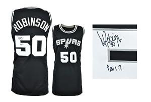 David Robinson San Antonio Spurs Autographed Jersey - Memories - Mounted Memories... by Sports Memorabilia