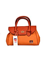 BH Wholesale Market Designer, Imported & Fashionable, New Arrival PU Leather Shoulder & Hand Bag For Women (Orange... - B00YJACF2S