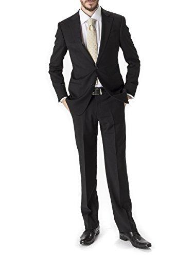 (アルマーニ コレッツィオーニ) ARMANI COLLEZIONI シングル 2つ釦 スーツ 【GARCVGBA0B003】 [並行輸入品] ブラック / 46