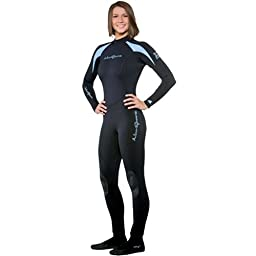 Neosport Womens 3/2mm XSPAN Fullsuit (Black, 12)