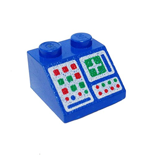 lego-parts-slope-45-2-x-2-decorated-with-computer-panel-pattern-blue