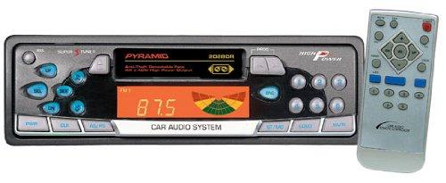 Pyramid - AM/FM-MPX Cassette Player w/Detachable Face - 2028DR