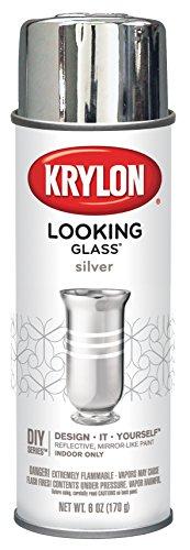 Krylon Looking Glass Silver-Like Aerosol Spray Paint 6 Oz. picture