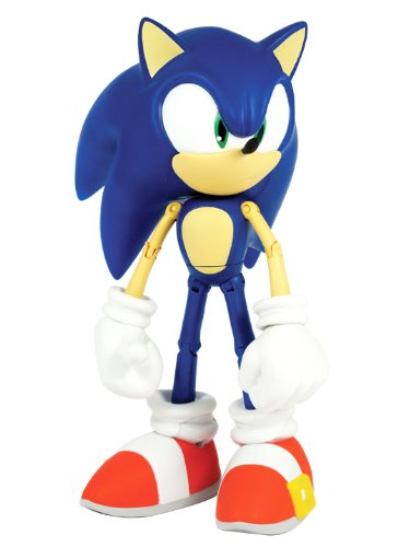 Sonic The Hedgehog 10 Inch Deluxe Action Figure Sonic Over 12 Points Of Articulation