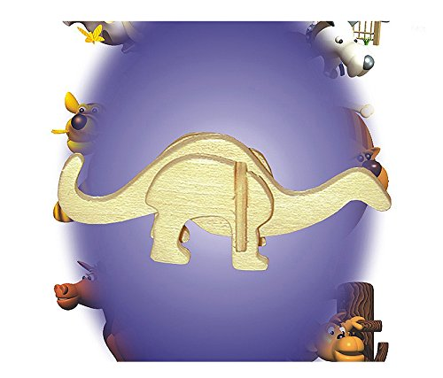 Puzzled 3D Mini Apatosaurus Party Pack (12 Units) - 1