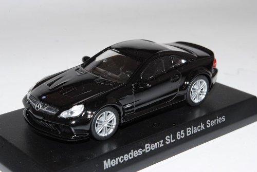 Mercedes-Benz SL65 AMG Black Series Ab 2009 Schwarz R230 1/64 Kyosho Sonderangebot Modell Auto
