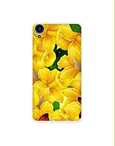 Sony Xperia Z4 ht003 (134) Mobile Case from Mott2 - Bell Flower with Butterfly (Limited Time Offers,Please Check the Details Below)