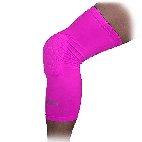 Knee Long Sleeve Protector Pink