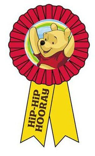 Disney Pooh and Pals Award Ribbon