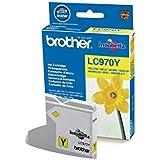 Brother LC970Y Cartouche d'encre d'origine 1 x jaune 300 pages