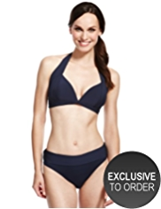 M&S Collection Halterneck Bikini Top