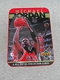 Michael Jordan 6 All-Metal Collector Cards