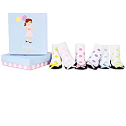 Trumpette Infant Girl\'s Socks Tricia 0-12 Months 6 Pack