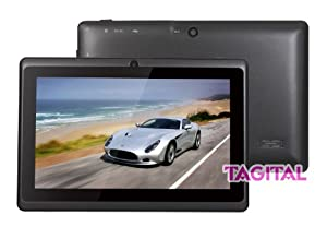 """Tagital® 7"""" Android 4.2 4GB MID Capacitive Touch Screen A13 Tablet WiFi Dual Camera Black by MTM Trading LLC"""