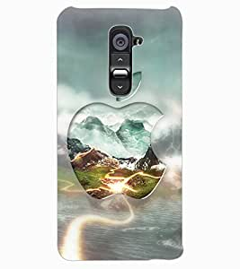 ColourCraft Creative Image Design Back Case Cover for LG G2