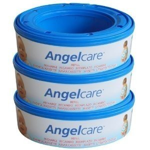 3 X Angelcare Nappy Disposal System Refill Cassettes Wrappers Bags Sacks Pack Best Quality Fast Shipping Ship Worldwide front-289950