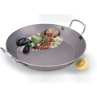 Paderno World Cuisine 7 7/8 inches Carbon Steel Paella Pan