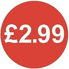 Audioprint Lot Petit 13mm £ 2.99Prix Autocollants-Lot de 100