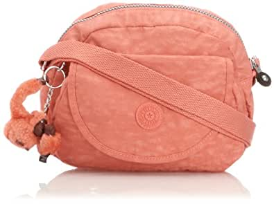 Kipling Women's Stelma Shoulder Bag K1531314M Salmon Pink