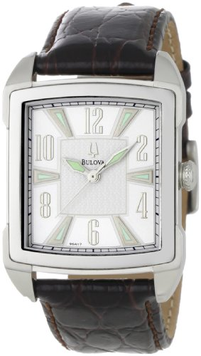 Bulova Men's 96A117 Adventurer Vintage-Look Dial Watch