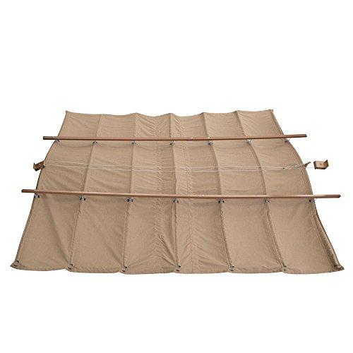Yardistry Retractable Sunshade, 12 x 14 x 9 ft (Patio Retractable Sun Shade compare prices)