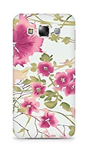 Amez designer printed 3d premium high quality back case cover for Samsung Galaxy E5 (pastel blur)