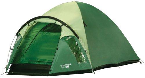 Lichfield TEGCULLEND51003 Cullen 3 - Tenda da campeggio 210 x 180 x 120 cm, colore: Verde
