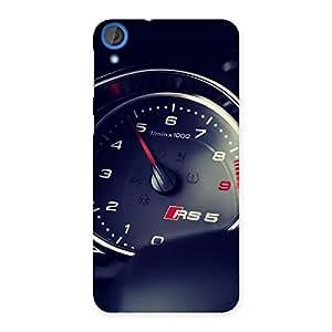 Enticing Speedo Meter Multicolor Back Case Cover for HTC Desire 820s