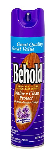 Behold Furniture Polish, Lavender, 12.5 Ounce Pack Of 12