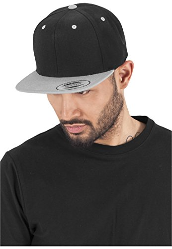Classic Snapback 2-Tone blk/silver one size
