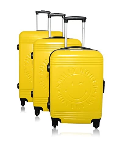 Bazar De Maletas Set Trolley Smiley World