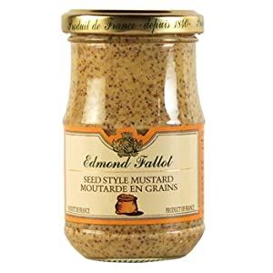 Amazon.com : Fallot Whole Grain Mustard : Dijon Mustard : Grocery ...