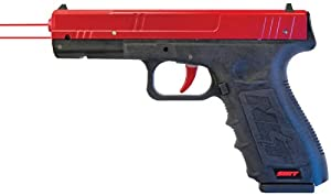 New SIRT Training Pistol. Dry Fire Handgun by Next Level Training. Red/Red Laser and Weighted Magazine. Includes Case, Manual, Training DVD, Adjustment Tools.