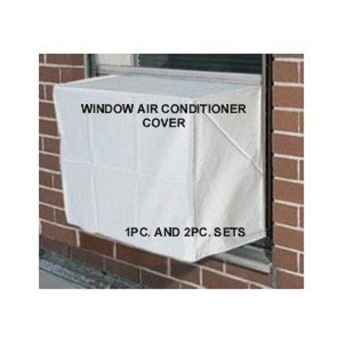 Window Air Conditioner Cover - Window/thru Wall - Outdoor - 27W, 18H, 22D - White (Window Type Air Conditioner compare prices)