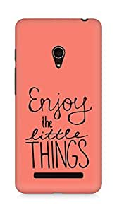AMEZ enjoy the little things Back Cover For Asus Zenfone 5